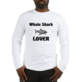 Whale Shark Lover Long Sleeve T-Shirt