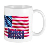 Carissa USA Flag Gift Small Mug