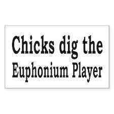 Euphonium Rectangle Decal