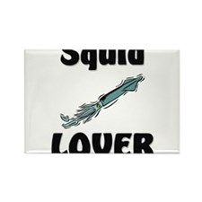 Squid Lover Rectangle Magnet