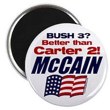 Bush 3 vs Carter 2 Magnet