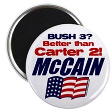 "Bush 3 vs Carter 2 2.25"" Magnet (100 pack)"