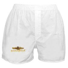 Gold qualified dolphins Boxer Shorts