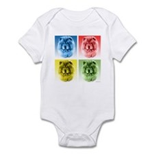 Chow Chow Pop Art Infant Bodysuit
