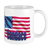 Candace USA Flag Gift Coffee Mug