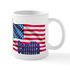 Camilla USA Flag Gift Mug