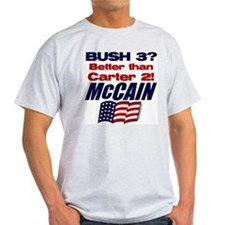Bush 3 vs Carter 2 T-Shirt