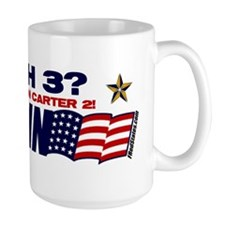 Bush 3 vs Carter 2 Coffee Mug