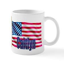 Caitlyn USA Flag Gift Mug