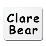 Clare Bear Mousepad