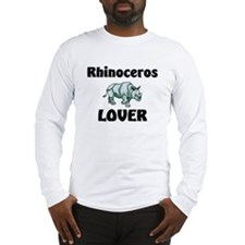Rhinoceros Lover Long Sleeve T-Shirt
