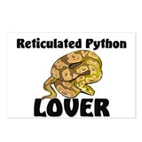 Reticulated Python Lover Postcards (Package of 8)