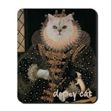 Cat ELIZABETH I Mousepad