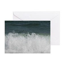 Roaring Atlantic Greeting Card
