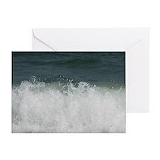Roaring Atlantic Greeting Card