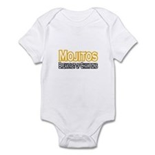 """Mojitos. Breakfast of..."" Infant Bodysuit"