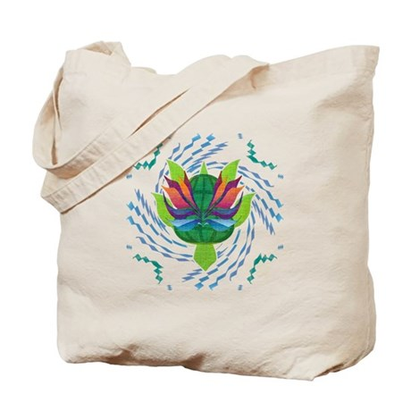 Flying Turtle Tote Bag