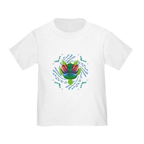 Flying Turtle Toddler T-Shirt