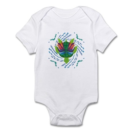 Flying Turtle Infant Bodysuit