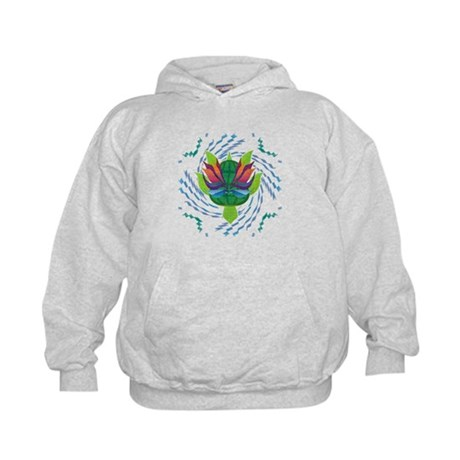 Flying Turtle Kids Hoodie