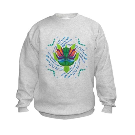 Flying Turtle Kids Sweatshirt