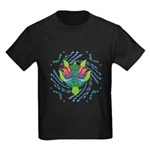 Flying Turtle Kids Dark T-Shirt