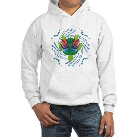 Flying Turtle Hooded Sweatshirt