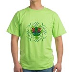 Flying Turtle Green T-Shirt