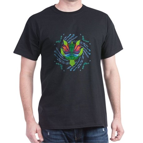 Flying Turtle Dark T-Shirt
