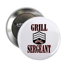 "Grill Sergeant 2.25"" Button"