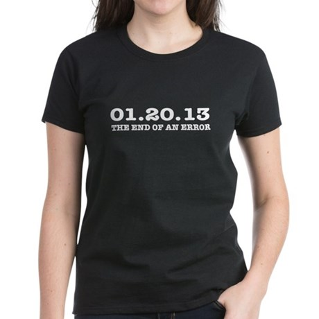 Last Day 1/20/2013 January 20, 2013 Women's Dark T