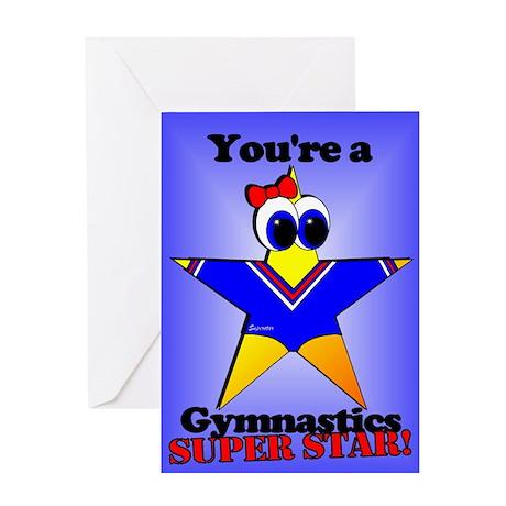 Gymnastics Birthday Greeting Card