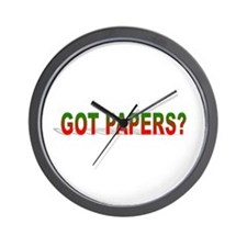 Got Papers? Wall Clock