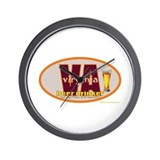 Cool West virginia is for lovers Wall Clock