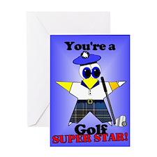 Golf Birthday Greeting Card