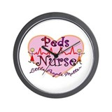 Pediatric nurses Wall Clock