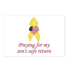 Son's Safe Return Postcards (Package of 8)