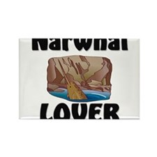 Narwhal Lover Rectangle Magnet (10 pack)