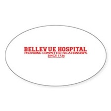 Bellevue Committed Oval Sticker (50 pk)