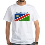 Namibia White T-Shirt