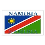 Namibia Rectangle Sticker