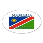 Namibia Oval Sticker