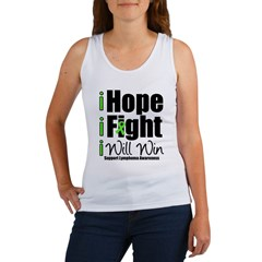 Hope, Fight Win (Lymphoma) Women's Tank Top