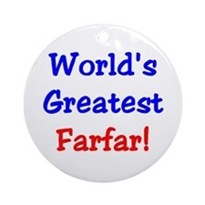 World's Greatest Farfar Keepsake (Round)