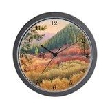 Big Bear Cowboy Wall Clock