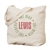 Lewis Man Myth Legend Tote Bag