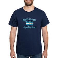 Coolest Argentine Dad T-Shirt