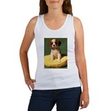 Retro King Charles Cav Women's Tank Top