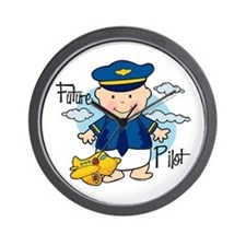 Future Pilot Wall Clock