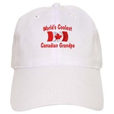 Coolest Canadian Grandpa Baseball Cap